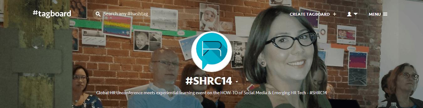#SHRC14 on Tagboard
