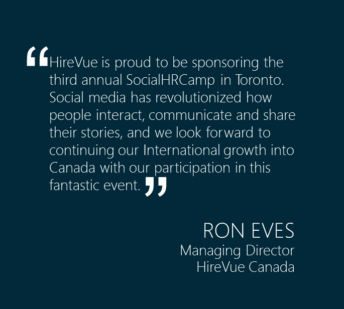HireVue Ron Eves