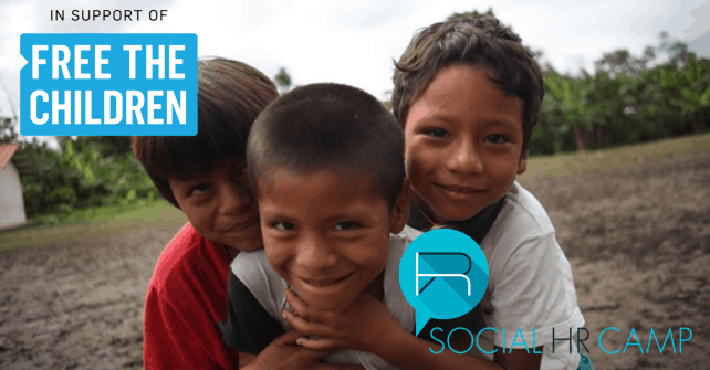 SocialHRCamp Partners with Free The Children