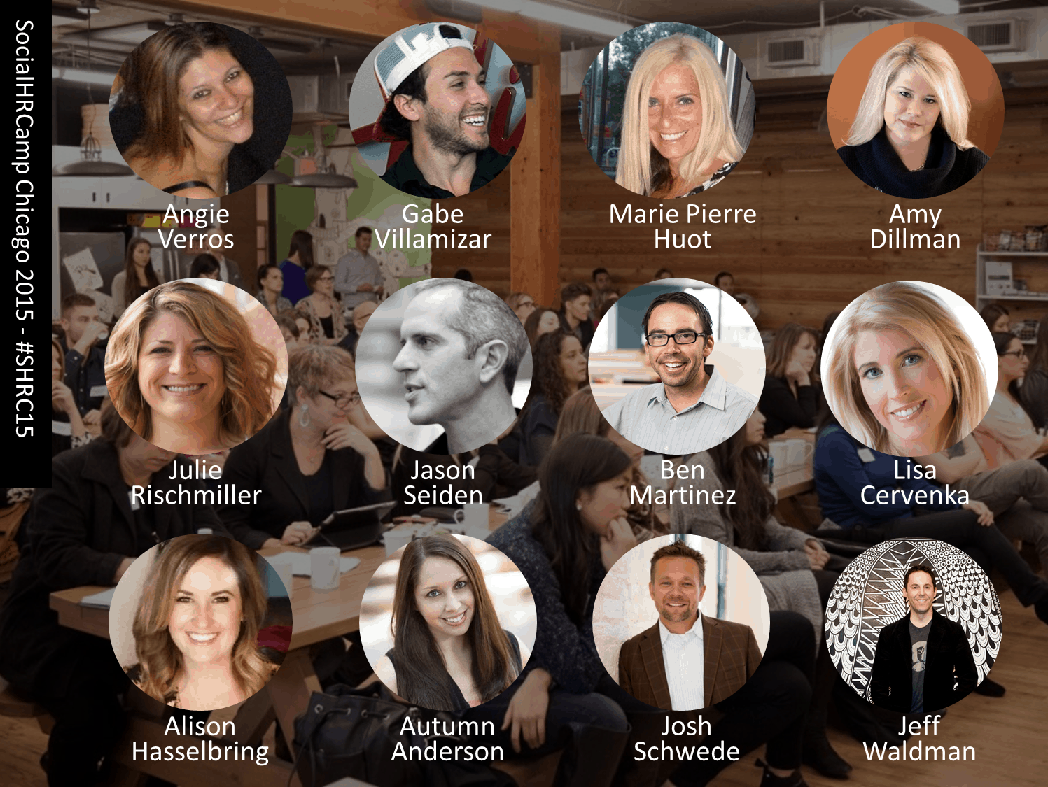 SocialHRCamp Chicago 2015 Speakers #SHRC15