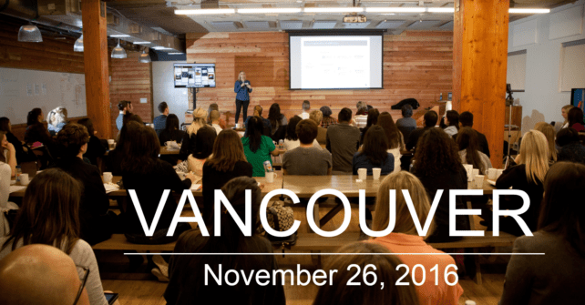 T-2 Sleeps to SocialHRCamp Vancouver 2016